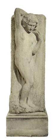 stehender weiblicher akt by georg kolbe