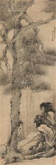 松石图 by xiang shengmo