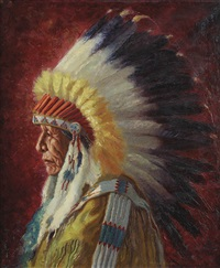 chief running bear by henry balink