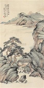 山水人物 by zhao songsheng