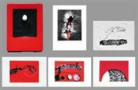 immagini catturate (libro d'artista con 5) by emilio scanavino
