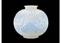 vase: poissons by rené lalique