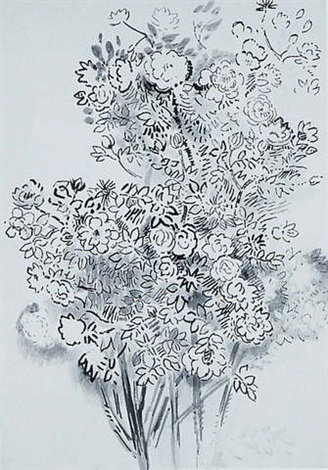 wild rose bush by karl schrag on artnet