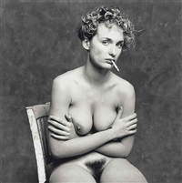 claude dans mon studio, paris, november by bettina rheims