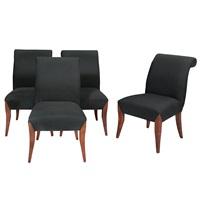 set of twelve dining chairs by dakota jackson