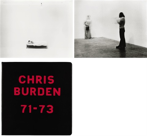 chris burden 71 73 binder w53 works by chris burden