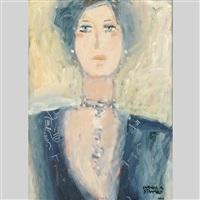 portrait de femme by claude a. simard