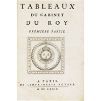 tableaux du cabinet du roy (+43 others; folio of 44) by sebastien mabre-cramoisy