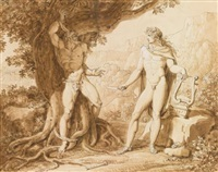 apollo and marsyas by giuseppe cammarano