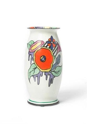 Latona Cartoon Flower Vase By Clarice Cliff On Artnet