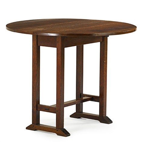Drop Leaf Side Table By Gustav Stickley On Artnet