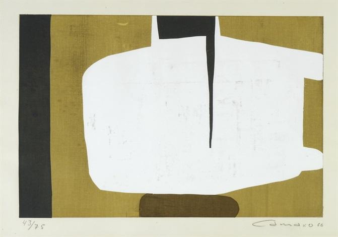 abstrakte komposition by alexander camaro