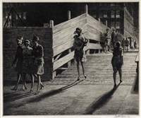 fifth avenue bridge by martin lewis