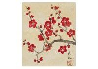 red plum by sokyu yamamoto