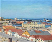 alger, le port, les docks by camille leroy