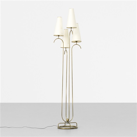 jet deau floor lamp by jean royère