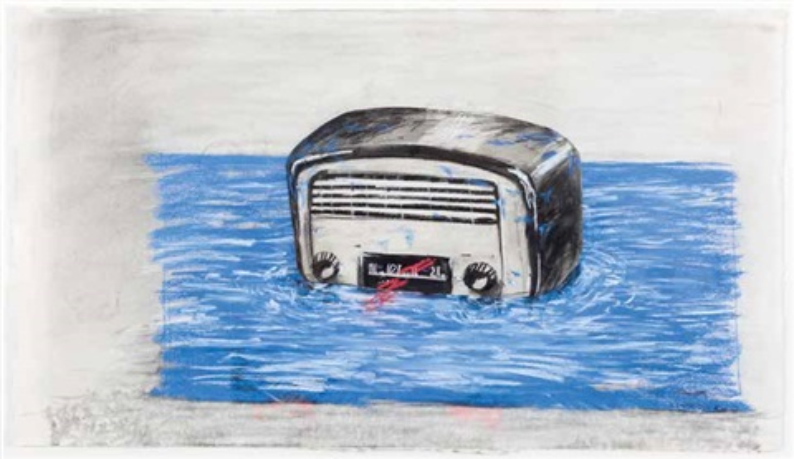 bakelite radio by william kentridge