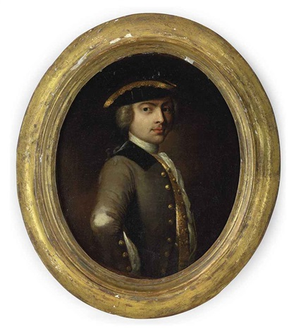 portrait of a gentleman in a tricorne by thomas gainsborough
