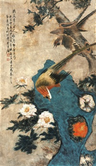花卉 by xiao peiji