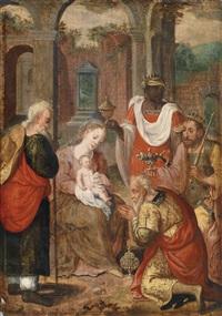 die anbetung der könige by marcellus coffermans