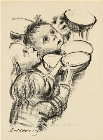 deutschlands kinder hungern by käthe kollwitz