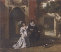 the blind nobleman and his cuckold by john cawse