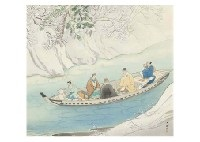 boat on a stream by kyuho noda