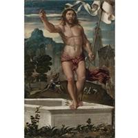 christ rising from the tomb by girolamo da santacroce