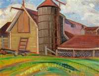 farm scene by anne douglas savage
