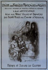 union des familles françaises et alliées aide aux mères veuves et orphelins des soldats morts au champ d'honneur by germaine lemaire