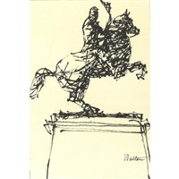 statue of andrew jackson on horseback by william walton