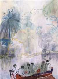 imaginary boys by peter doig