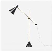 floor lamp, model k10-11 by tapio wirkkala