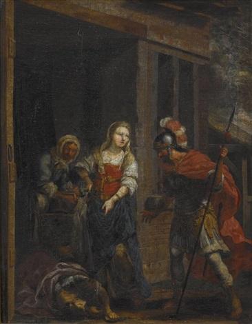 jaël zeigt barak den toten sisera judith und holofernes pair by johann heiss