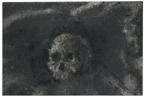 skull no 15 by zhang huan