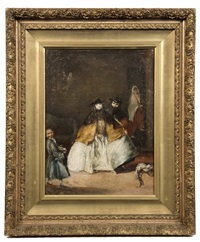 masquerade ball by pietro longhi