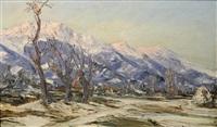 vallée du grésivaudan hiver by emile veron