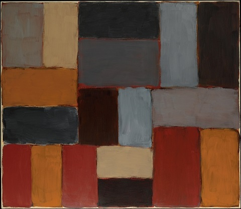 wall of light temozon by sean scully