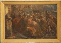 predica del cristo by attilio andreoli