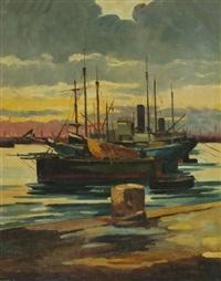 vecchio porto by renato natali