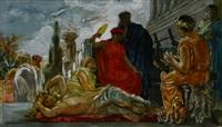 bacchusfest im antiken rom by ernst albert fischer
