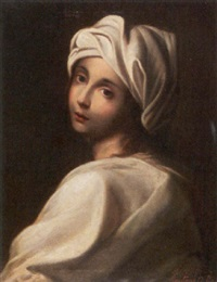 young girl in a turban by achille leonardi