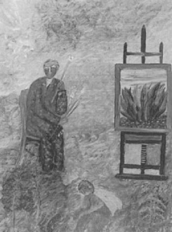 discouraged artist by harry lieberman