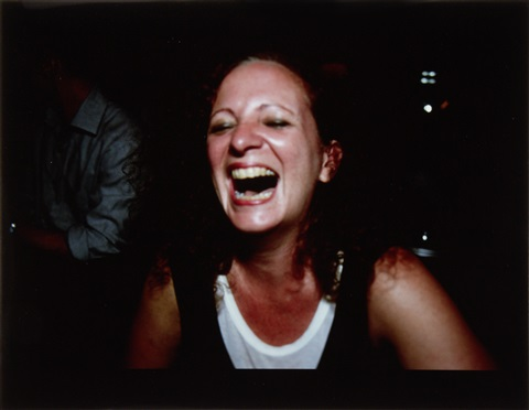 self portrait laughing paris by nan goldin