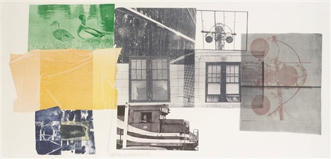 529 bay shore by robert rauschenberg