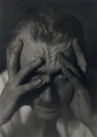 portrait of hagemeyer by dr. leonard b. loeb