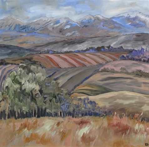 foothills rhythm ii by phyllis anderson