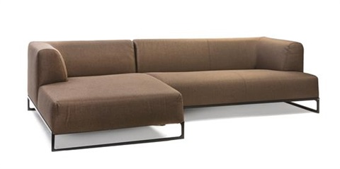 Two Piece Sectional Sofa In 2 Parts By Antonio Citterio