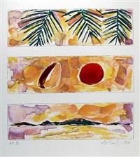 rising sun-falling coconut by bill beckley