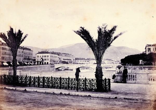 nice quai des palmiers by charles nègre